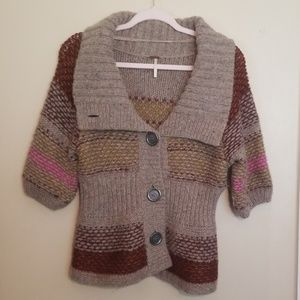 Lot of 2 Free People Wool Sweaters Size Large